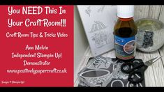 Craft Room Tips-You NEED This In Your craft Room!!!