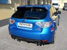REALIZACJA: Subaru Impreza WRX STI  Impreza STI to z pewnością niesamowity i kultowy samochód. To także świetna baza dla wszelkiego rodzaju modyfikacji - na przykład układu wydechowego!  W prezentowanym egzemplarzu zamontowaliśmy sportowe tłumiki tylne wraz z końcówkami, dzięki czemu auto zyskało trochę mocy oraz straciło kilogramy. Lecz najważniejszy jest nowy dźwięk - niezwykle basowy i głęboki, dokładnie taki, na jaki zasługuje STI!  Remus Polska http://www.remus-polska.pl/