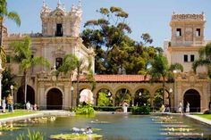 Your hometown doesn't have Balboa Park, a great place to have a summer picnic in the middle of winter.