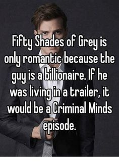 No, it's just another type of person's romance. Plus, to a lot of people 50 Shades was too vanilla.
