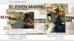 "ACTnARTproject ""El Joven Marino - a new harbour"" performed by Fabian and Luiz  #male #models #photography #sailors #marine #nautic  #actnart #actnartproject"