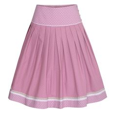 Rock Franzi in Rosa von Country Line I 60 cm Country Line, Rock, Cheer Skirts, Fashion, Skirts, Bodice, Fall Winter, Dirndl, Women's