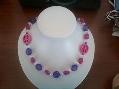 Teen peace necklace