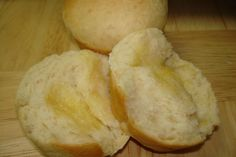Sweet, Buttery Rolls  (Bread Machine Recipe) from Food.com: Just made these (w/whole wheat) for the ham and swiss sammies we're having tonight. GREAT recipe!! The kids and I had a very hard time keeping our hands off them....
