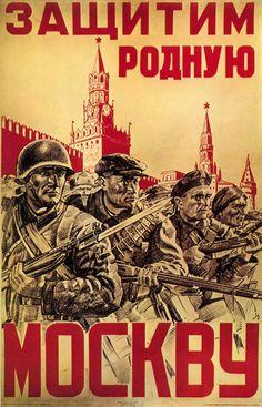 Russian Propaganda Poster (obviously)