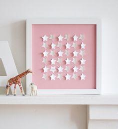 Little Stars - Pink. via veronika on etsy.