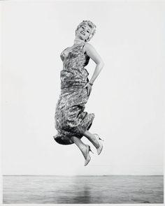 Jump series, Zsa Zsa Gabor par Philippe Halsman