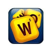 Words with Friends - Scrabble Like game to play with other phone users (you can invite each other)