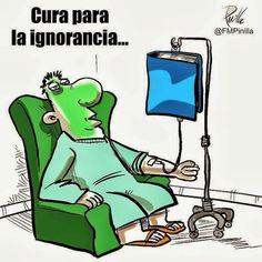 cura para la ignorancia, la lectura