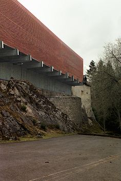 Le château de Môtiers 1°proposal / Museum / Switzerland / LOKOMOTIV.archs office LKMV 2002©