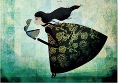 Saudade, by the Portuguese illustrator Fatinha Ramos