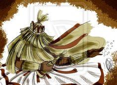 Obaluaie 6 by Orádia N.C Porciúncula/ Licença Creative Commons 3.0 Atribuição - Uso Não-Comercial-Proibição de realização de Obras Derivadas CC BY-NC-ND