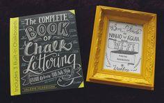 The Complete Book of Chalk Lettering, de Valerie McKeehan   alineando.com.br #livro #resenha #review #book #lettering