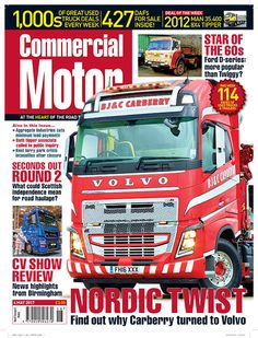 OUT NOW: COMMERCIAL MOTOR 4 May