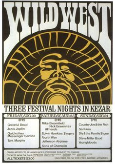 San Francisco summer 1969 ...but it was cancelled the week before it was to happen #posters