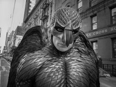 | VANITY FAIR | Michael Keaton, in full Birdman regalia.