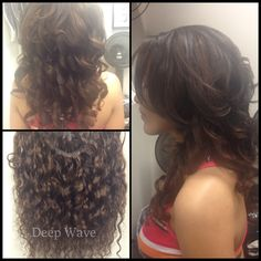 Client got a traditional weave installation. with 2 bundles deep wave hair www.glamouryou.net