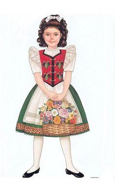 Heidi: A Paper Doll