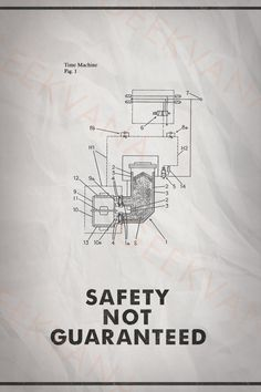 Safety Not Guaranteed Movie Poster / 12 x 18 / Science by Geekvana, $15.00