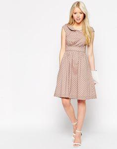 Image 4 ofEmily & Fin Polka Dot Dress with Full Skirt