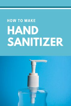 How to Make Hand Sanitizer Cleaning Solutions, Cleaning Hacks, Rubbing Alcohol, Aloe Vera Gel, Hand Sanitizer, Clean House, Helpful Hints, Soap, Personal Care