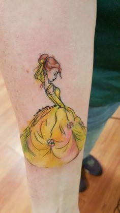1000 ideas about belle tattoo on pinterest aladdin for Aladin tattoo salon