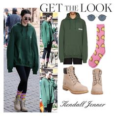 """""""Kendall Jenner With Her Mom Kris Jenner  Colorado April 5 2016"""" by valenlss ❤ liked on Polyvore featuring Vetements, Ahlem, ODD FUTURE and Timberland"""