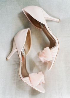 Landon Jacob shoes - pink and girly with a low enough heel for comfort