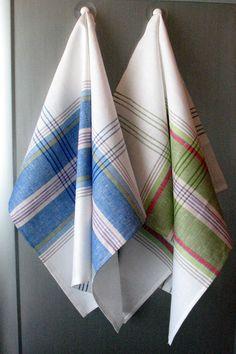 Linen Cotton Dish Towels - Tea Towels set of 2. $15.90, via Etsy.