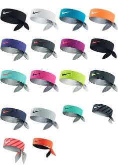 Brand NEW w/ Tags NIKE DRI-FIT HEADBANDS Head Tie Bandana Nadal Federer Serena #Nike