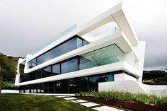 Architektur: Das futuristische Weave House von A-Cero