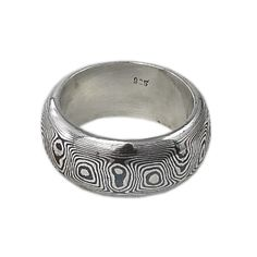 Oriental Ring with niello streaks