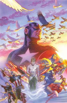 Captain America 75th Anniversary by Alex Ross