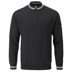 Stuburt Mens Sport Lined Half Zip Sweater Product Features 55% Cotton / 45% Acrylic Double Ply Half ZIp Neck Design Stripe Detail to Neck and Cuff Silent Polyester / Elastane Windproof Lining Breathable Double Ply Ribbed Cuffs and Hem Logo on http://www.MightGet.com/may-2017-1/stuburt-mens-sport-lined-half-zip-sweater.asp