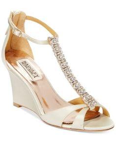 Badgley Mischka Romance Evening Sandals