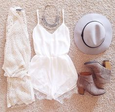 boho outfit for spring