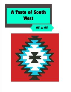 (4) Name: 'Crocheting : Southwest Design 2 Crochet Graph