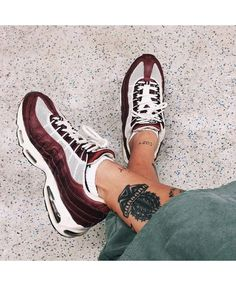 new style 562be 98d4d Cheap Nike Air Max 95 Crimson White Nike Jordans Women, Adidas Shoes Women,  Nike
