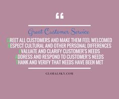 Satisfy your customers' needs by outsourcing your customer service. Outsourcing is not only a cost-saving strategy, but a wise move that forges a partnership between your business and an industry expert. Don't let your customers be disappointed with crappy customer service. Give Us an Email Today at sales@globalsky.com.  #GreatCustomerServices #BusinessProcessOutsourcingServices #GlobalSky Call Support, Cost Saving, Disappointed, Customer Service, Philippines, Sky, Let It Be, Feelings, Business