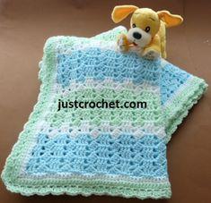 Free Pastels Baby Blanket Crochet Pattern - Crochet 'n' Create