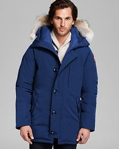 Canada Goose Chateau Parka with Fur Hood - Spirit | Bloomingdale's