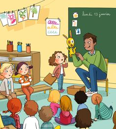 About Me Activities, Work Activities, Language Activities, Play School Toys, Composition D'image, Picture Comprehension, Sequencing Pictures, Picture Dictionary, Family Illustration