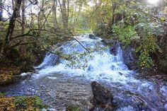 La cascade des Saliens - cascade du haut