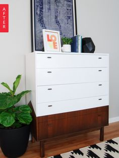 Before & After: We're Angling You'll Love This Dresser Redo
