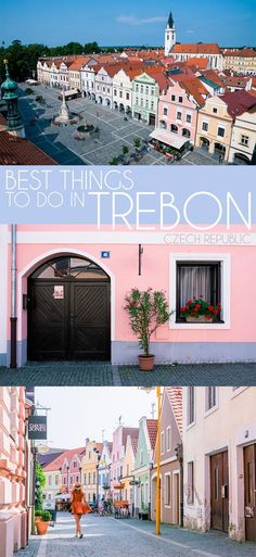 Best things to do in the colorful and charming town Trebon Czech Republic in South Bohemia. Europe Travel Guide, Travel Guides, Travel Destinations, European Destination, European Travel, Oh The Places You'll Go, Cool Places To Visit, Europe Continent, Prague Travel
