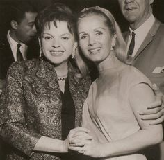 Debbie Reynolds and Judy Garland