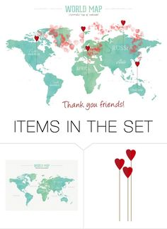 """""""Thank you friends!"""" by thaliatria ❤ liked on Polyvore featuring art"""