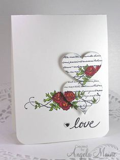 FS312 Hearts for Bonnie by Arizona Maine - Cards and Paper Crafts at Splitcoaststampers