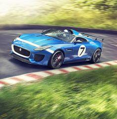 Jaguar Project 7 Concept Car at 2013 Goodwood Festival of Speed