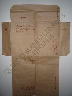 CARPETA ESCOLAR TIPO MALETIN..CON SUS MOLDES Paper Shopping Bag, Control, Ballet, School Folders, Crates, Cards, Xmas, Ballet Dance, Dance Ballet